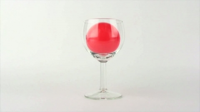 Wineglass Red Ball